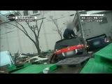 Цунами в Японии (вид из автомобиля)