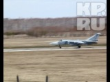 Взлет Су-24 в Шаголе